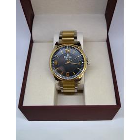 d80334b1e8b Relogio Champion Fundo Preto Calendario - Relógios De Pulso no ...