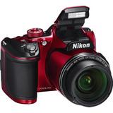Cam. Nikon B500 16mp 40x Zoom Fullhd Wifi Roja !!