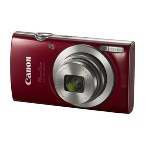 Camara Canon Powershot Elph 180 20 Mp Full Hd 720p Compacta