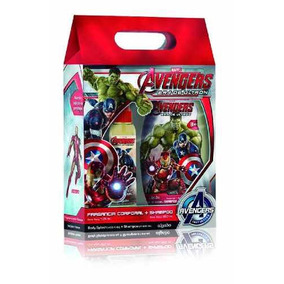 Avengers Colonia 125ml Shampoo 3 En 1 350ml- Bebes Y Niños