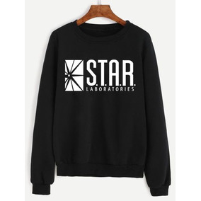 Sudadera Star Labs, Laboratories, Flash Dc, Compra Calidad