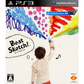 Jogo Beat Sketch Ps3 Original Seminovo