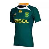 Camiseta Sudafrica Canterbury Rugby Oficial Adulto Original