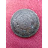 Moneda 4 Centesimos 1869