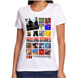 Remera / Rock / The Rolling Stones / Mujer /diseño Exclusivo