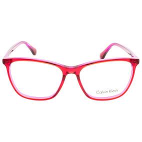 cd2b8312263d3 Armação Óculos Grau Calvin Klein Ck + Estojo 100% Original - Óculos ...
