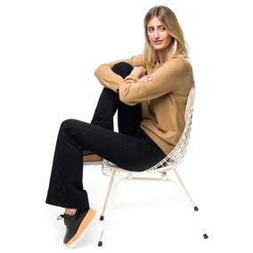 Sweater Dama Básico Camel - Buzo Tejido De Punto - Bellmur