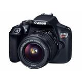 Camara Canon Rebel T6 18mp Cuerpo + Lente 18-55mm