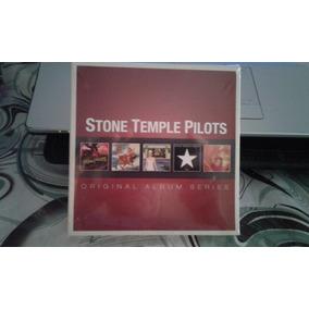 Stone Temple Pilots (europa Box Set 5 Cd Nuevo 2012) Origina