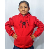 Sudadera Sapiderman Niño Niña Tallas Super Heroes Con Envio