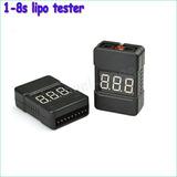 Medidor Y Alarma Digital Para Batería Lipo.