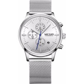 Reloj Cronografo Megir Modelo 2011sxi - Original