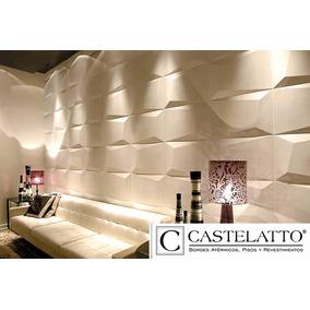 Revestimiento para pared exterior pisos paredes y - Placas decorativas paredes interiores ...