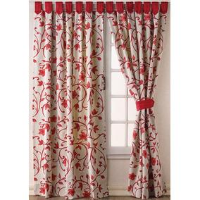 Cortinas para dormitorio decoraci n para el hogar en for Cortinas de tela para living