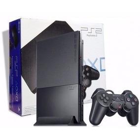 Playstation 2 Desbloqueado Novo Na Caixa + 7784 Jogos Play 2