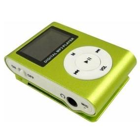 Mp3 Mp4 Player Shuffle Clip Lcd 2gb Com Fm E Microfone Oem