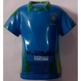 Camisa Seleção Brasileira Infantil Azul - Brinquedos e Hobbies no ... e341d377a03d2