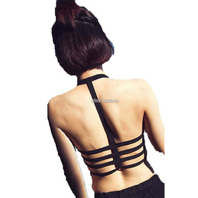 Bralette Crop Top Brasier Blusas Corpiño Sexy Moda 5