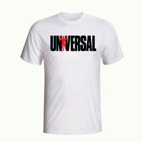 Camiseta Camisa Universal Academia Manga Curta Branca