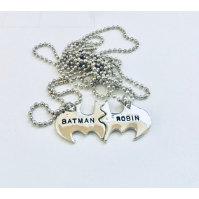 Collar Batman Y Robin Marvel Dc Comics Envio Gratis