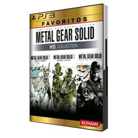 Metal Gear Solid Hd Collection Ps3 Mídia Física Novo Origina