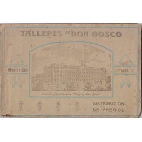 Talleres Don Bosco 2 Libros Antiguos Con Fotos 1925-26