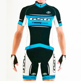 Calza Ciclismo Gsg Azul