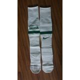 96496b89f6bb1 Meião Seleção Brasileira Nike - Brasil Branco Tam. 34   38