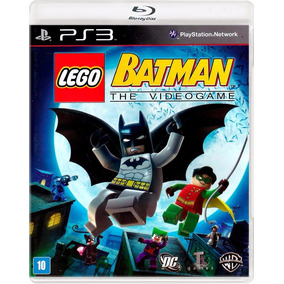 Lego Batman The Video Game - Ps3 - Mídia Fisica - Novo