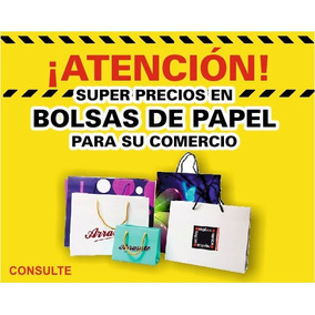 b074de627 Bolsas Comerciales Papel Couch Personalizadas - Otros en Mercado ...