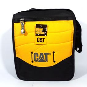Bolso Morral Mediano Cat Caterpillar Resiste Maltratos
