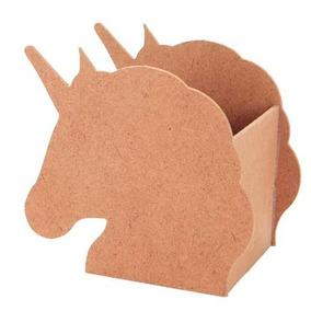Unicornio Base Mdf Centro Mesa Dulcero Fiesta Infantil Pony