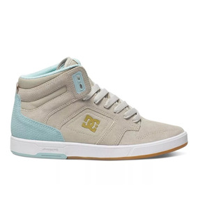 Zapatillas Dc Argosy High Gris Se (tan)