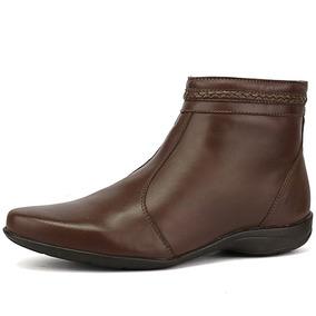 4cb509fa10 Bota Salto Rasteiro Outros Tipos - Sapatos no Mercado Livre Brasil