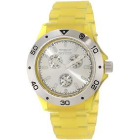 ff02a916e20 Mostrador Maquina Eta Pra Invicta Fundo Amarelo - Relógios no ...