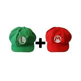 Boné   Chapéu Super Mario Bros Luigi - Brinquedos e Hobbies no ... e7ed17f9c26