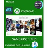 Xbox Game Pass 1 Mes Codigo-cuentas Nuevas-xbox One