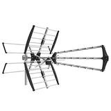 1byone Digital Outdoor / Roof Hdtv Antenna, High Gain Vhf /
