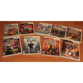 Pack De Jogos Oficiais De Nintendo Wii Autênticos