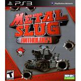 Metal Slug Ps3 Anthology 1, 2, 3, 4, 5, 6, X - No Es Disco