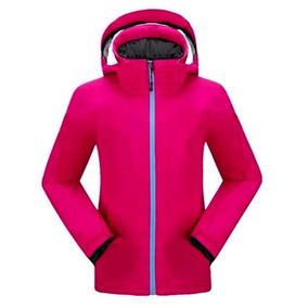 Campera Softshell Mujer Termica Nieve Lluvia Ski Jeans710