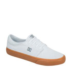 Tenis Choclo Agujetadc Shoes Color Blanco Textil Im442