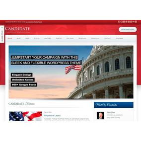 a762a8a4ac Template Site Wordpress Para Políticos  Rei Dos Templates