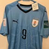 Camiseta Remera Uruguay 2018 Con Parches Talles S M L Xl