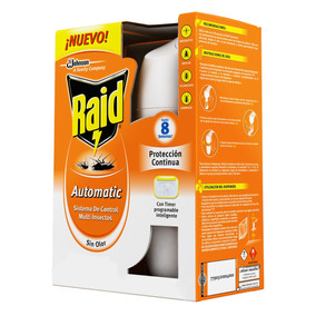 Raid 45 Noches Advanced Regular Aparato + 1 Repuesto