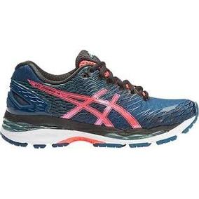 Zapatillas Running Asics Gel Nimbus 18 W Azules Envios Pais