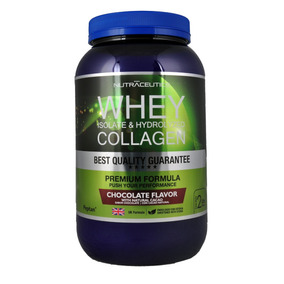 Whey Isolate + Colágeno Nutraceutics 2lbs Cacao