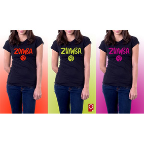 Remeras Calzas Zumba