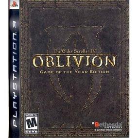 The Elder Scrolls 4 Oblivion - Ps3 Mídia Física