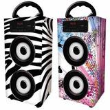 Parlante Portátil Bluetooth Mp3 Con Radio Swing Zonalaptop